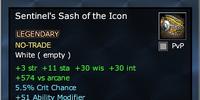 Sentinel's Sash of the Icon