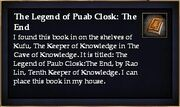 The Legend of Puab Closk The End