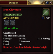 Iron Claymore