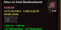Mace of Arial Bombardment