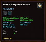 Wristlet of Superior Reticence