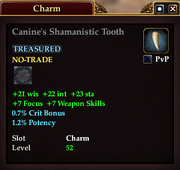Canine's Shamanistic Tooth