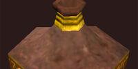 Gold Filligreed Jar