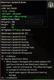 Watchman's Spidersilk Boots