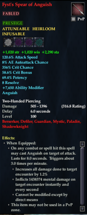 Fyst's Spear of Anguish