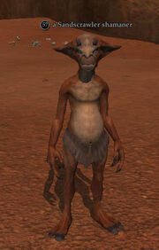 A Sandscrawler shamaner