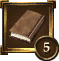 Achievement Icon brown book 5