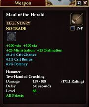 Maul of the Herald