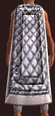 Snowfang Mystic's Cloak (Equipped)