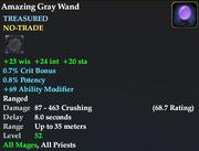 Amazing Gray Wand