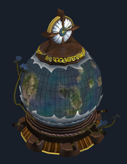 Rotating Globe of the Far Seas Trading Company (Visible)