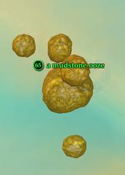 A mudstone ooze