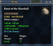 Band of the Marshall