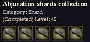 CQ shard abjuration Journal