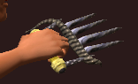 Bloody Claw of the Spirit Sucker (Equipped)