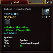Orb of Discarded Parts
