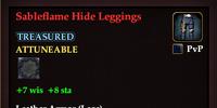 Sableflame Hide Leggings