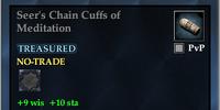 Seer's Chain Cuffs of Meditation