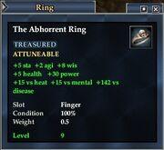 The Abhorrent Ring (Equipment)