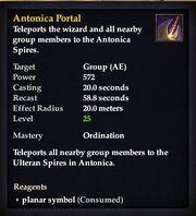 Antonica Portal