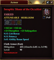 Seraphic Shoes of the Occultist