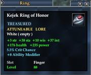 Kejek Ring of Honor