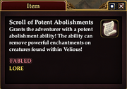 Scroll of Potent Abolishments