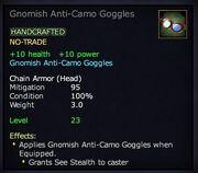 Gnomish Anti-Camo Goggles