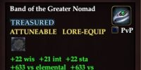 Band of the Greater Nomad