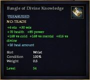 Bangle of Divine Knowledge