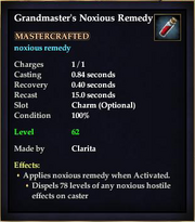 Grandmaster's Noxious Remedy