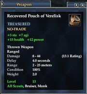 Recovered Pouch of Verelisk