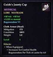 Guide's Jaunty Cap