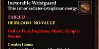 Inexorable Wristguard