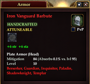 Iron Vanguard Barbute