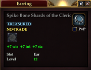 Spike Bone Shards of the Cleric