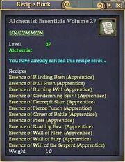 Alchemist Essentials Volume 27