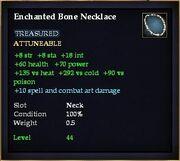 Enchanted Bone Necklace