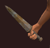 Imbued Iron Dirk (Equipped)