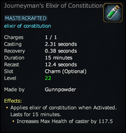 Journeyman's Elixir of Constitution