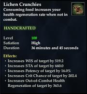Lichen Crunchies