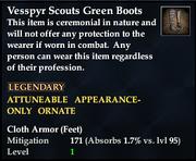 Vesspyr Scouts Green Boots