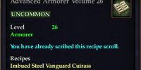 Advanced Armorer Volume 26