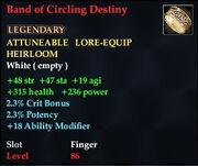 Band of Circling Destiny