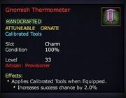 Gnomish Thermometer
