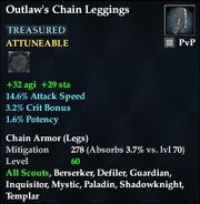 Outlaw's Chain Leggings