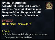Aviak (Inquisitor) - Boss