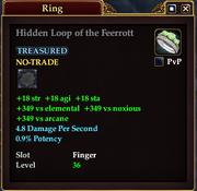 Hidden Loop of the Feerrott