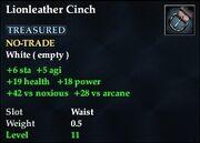 Lionleather Cinch