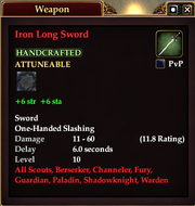 Iron Long Sword